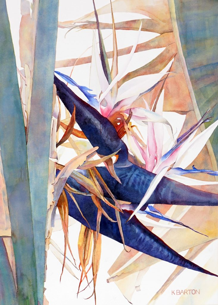 Kirsten Barton - White Bird of Paradise