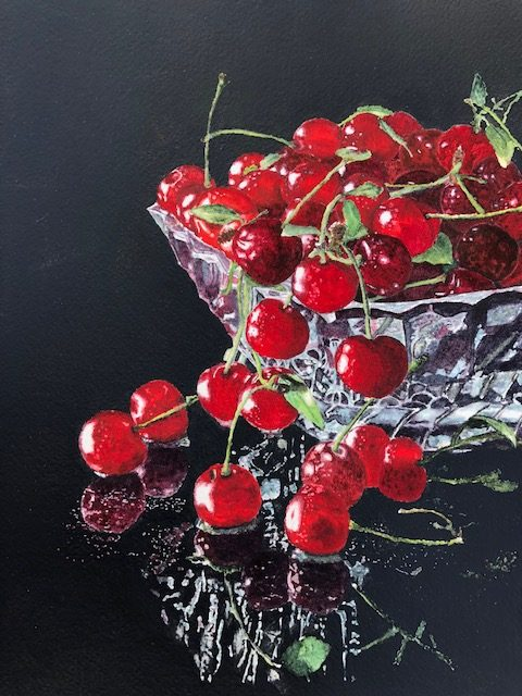 Bowl Full of Cherries - Patricia Boyst