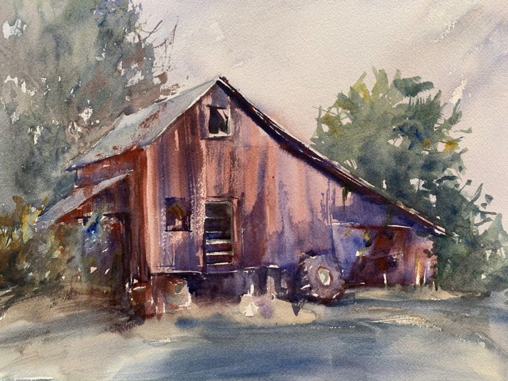Barbara Baker - Soya's Storage Shed