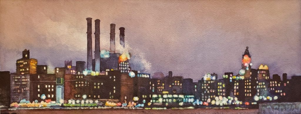 Catherine Huddy - East River Power Plant